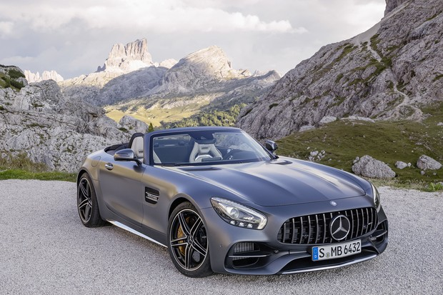Mercedes Benz GT C Roadster AMG